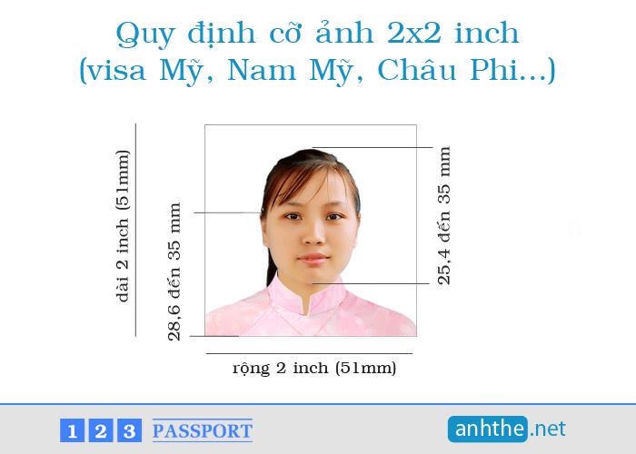 Cỡ ảnh visa Mỹ   Quy định kích thước ảnh visa Mỹ   www ...